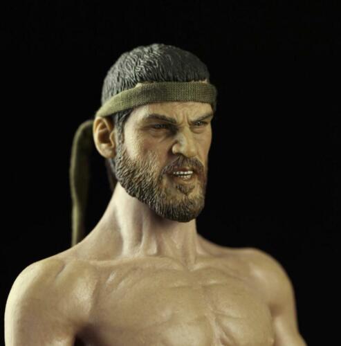 1//6 male head roman soldier K w// headband for hot toys phicen ganghood  ❶USA❶