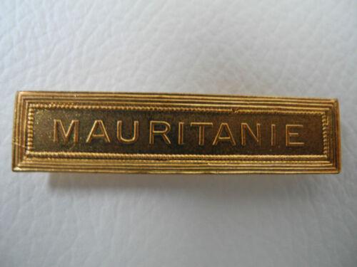 AGRAFE BARRETTE MAURITANIE