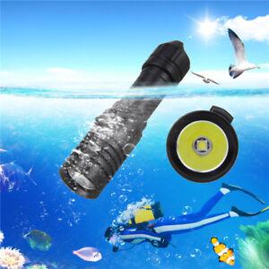 5000LM-XM-L2-LED-Scuba-Diving-Flashlight-Torch-18650-Light-Underwater-Practical