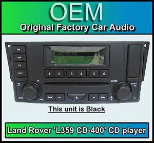 accesorios de ABS. Para Land Rover Freelander 2 2007-2012 para Discovery 3 LR3 2004-2009 cubierta de decoraci/ón de volante de coche
