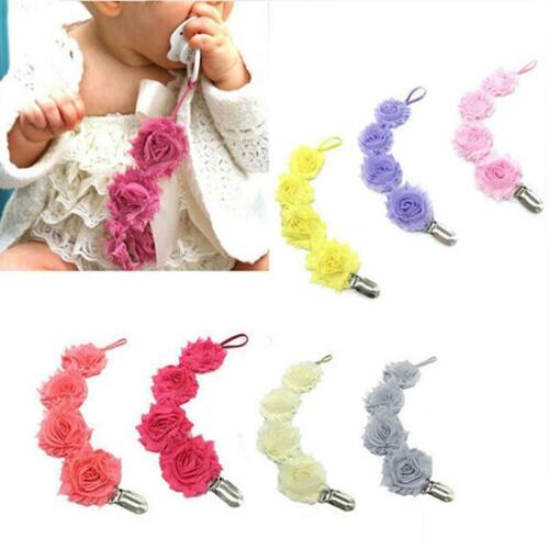 Baby Pacifier Clips Soother Chain Dummy Soother Leash Strap Nipple C