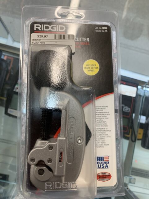 RIDGID 15 Screw Feed Tubing and Conduit Cutter 32920 for sale online