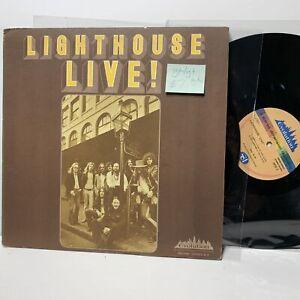 Lighthouse-Live-Evolution-94452-VG-VG-Prog-Rock-LP