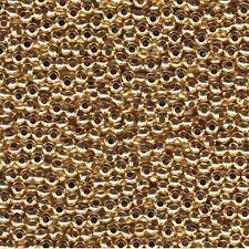 Genuine Metal Seed Beads 11/0 Gold Tone Gilding Metal 15 Grams