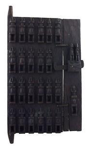Porta Dogon Loft Per Mil Mali 71x39 CM - Persiane Box- Arte Africano - 1063