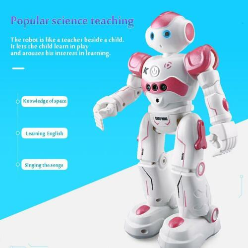 Kids Robot Toys Intelligent Programming Remote Control Children Biped Humanoid