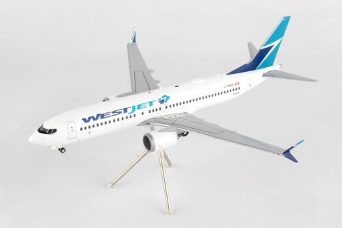 New Canada Boeing 737 MAX 8 G2WJA688 1//200 REG# C-FRAX GEMINI200 WestJet