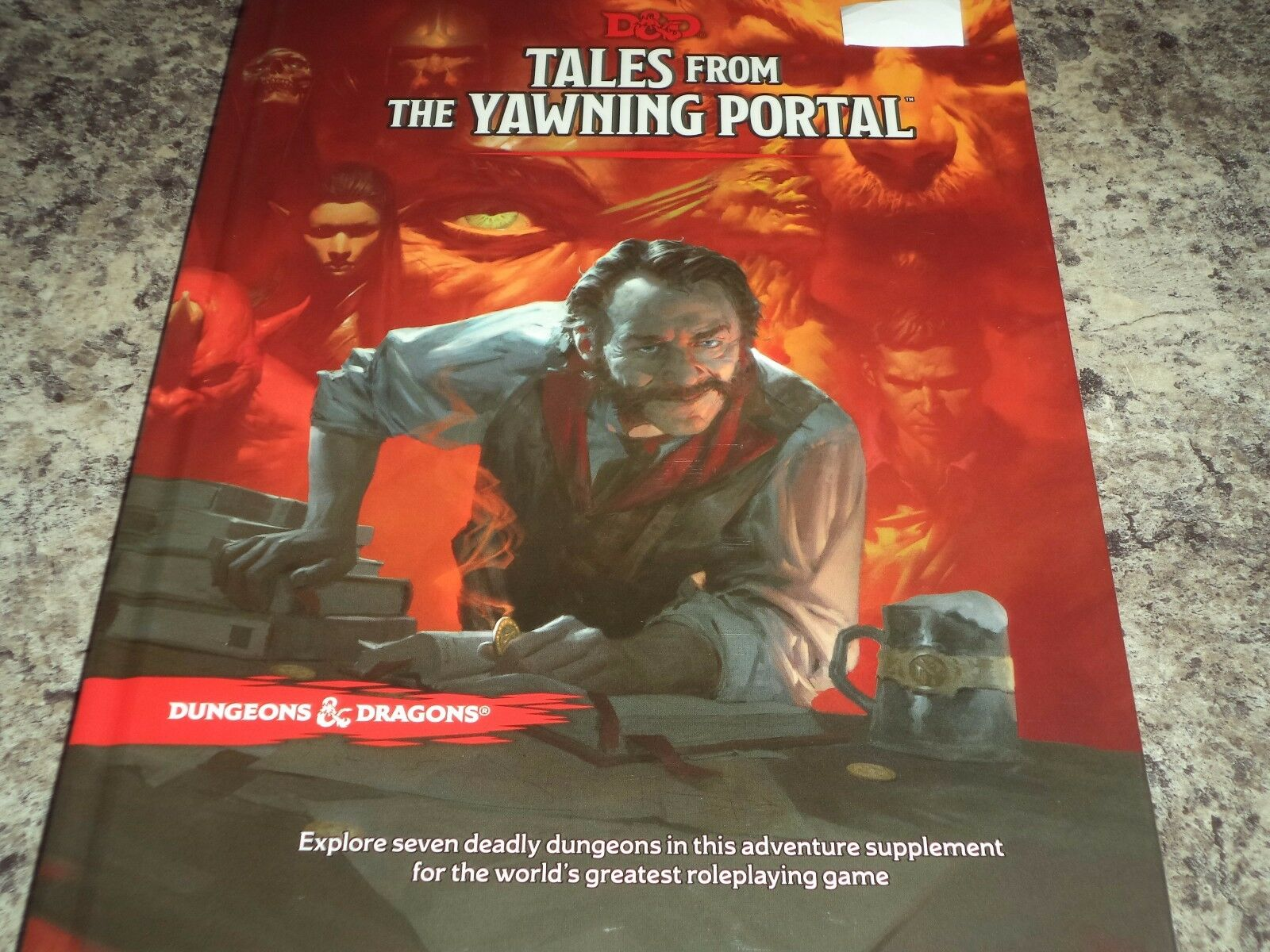 Tales from the Yawning Portal Dungeons and Dragons Adventure Campaign Book 5th E