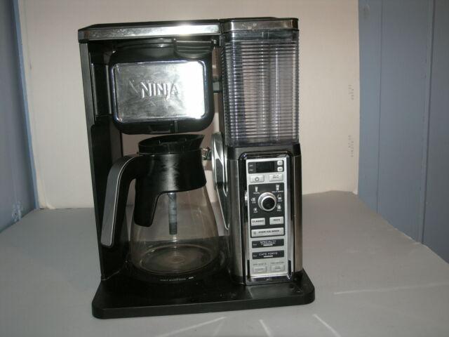 Ninja Coffee Bar single serve or glass carafe, milk ...