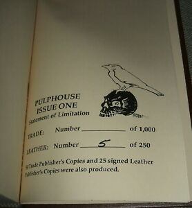 Signed-limited-Leather-Bound-Pulphouse-1-Copy-5-of-250-Signed-by-all-Fine
