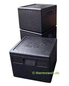 3-x-Profi-Thermobox-Pizza-Isolierbox-Pizzabox-schwarz-265mm-Nutzhoehe