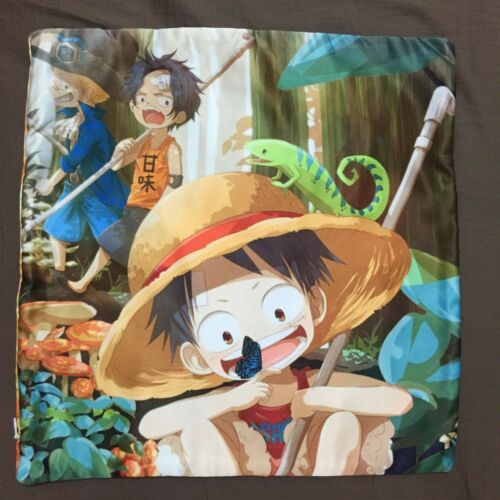 Anime One Piece ASL Luffy Ace two sided hugging Pillow Case Cover 102