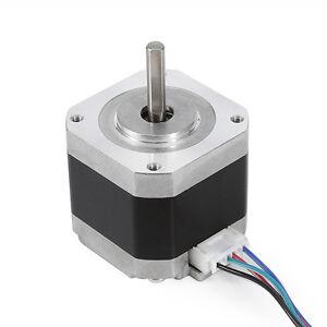 34-40-48-60mm-1-8-Degree-NEMA17-2Phase-4wire-Stepper-Motor-Fr-3D-Printer-Bracket