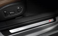 4x Audi S-line sticker for door sill Emblem Logo A3 A4 A6 Q5 Q7 A7 A5 RS