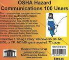 OSHA Hazard Communications, 100 Users by Daniel Farb (CD-ROM, 2005)