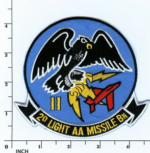 Details about usmc 2d laam bn patch marines 2nd light anti aircraft