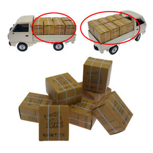 16pcs WPL Carton Box for D12 B16 B36 B24 MN77 MN90 MN99 RC Car Truck DIY Accs