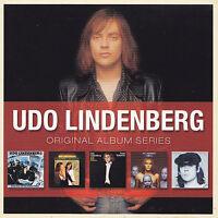UDO LINDENBERG - 5 CD - ORIGINAL ALBUM SERIES
