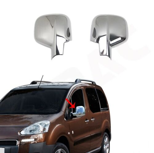Toyota Proace 2016Up   Abs Chrome Mirror Cover 2Pcs