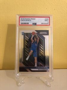 Panini Prizm #280 NBA Dallas Mavericks Luka Doncic Rookie Card RC PSA 9