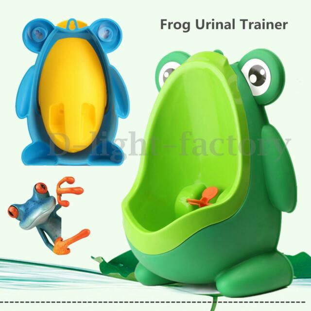 Children Toddler Frog Potty Toilet Training Urinal Kids Baby Boy Pee Bathroom