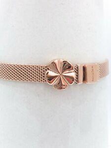 Details about NEW Authentic PANDORA Rose Gold Reflexions Flower Clip Charm  Pendant 787897