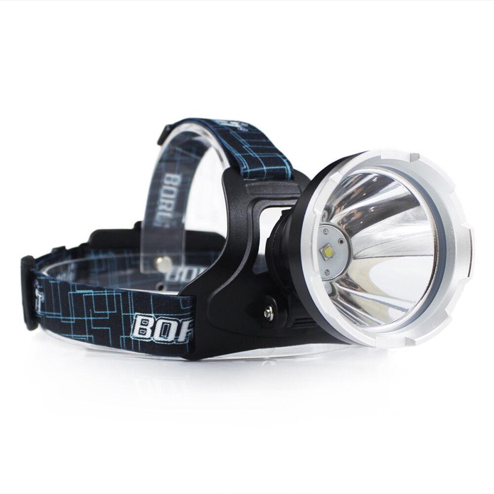 Headlamp Headlight Torch Light BORUIT B10 3800LM XM-L2 LED 3-Mode Waterproof USB