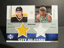 2002-03 UD SuperStars City All-Stars Dual Jersey #SSAW Sergei Samsonov/Walker