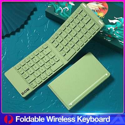 Details about  Bluetooth Wireless Keyboard For Samsung iPad iPhone Android Slim Laptop Tablet