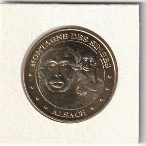 A-2010-TOKEN-MEDAILLE-MONNAIE-DE-PARIS-67-600-N-8-LA-MONTAGNE-DES-SINGES