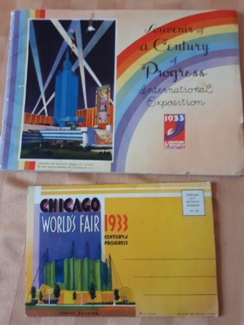 1933 chicago worlds fair souvenirs