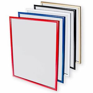 A0A1A2A3A4 Colour Snap Frame Poster Holders Displays Retail Wall Notice Board