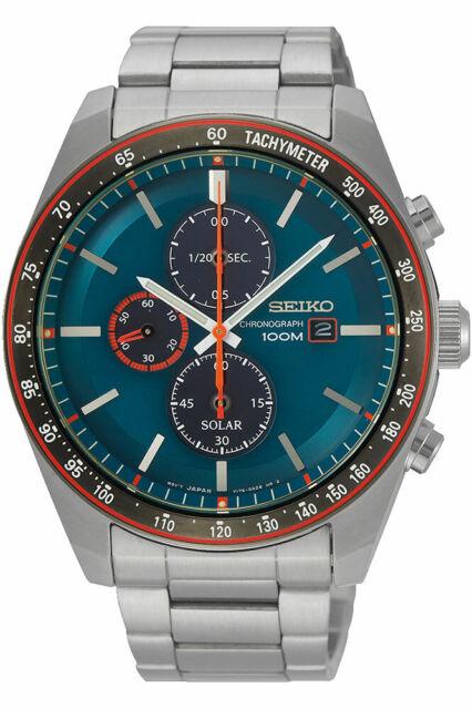 Reloj Seiko Solar SSC717P1 Hombre Solar