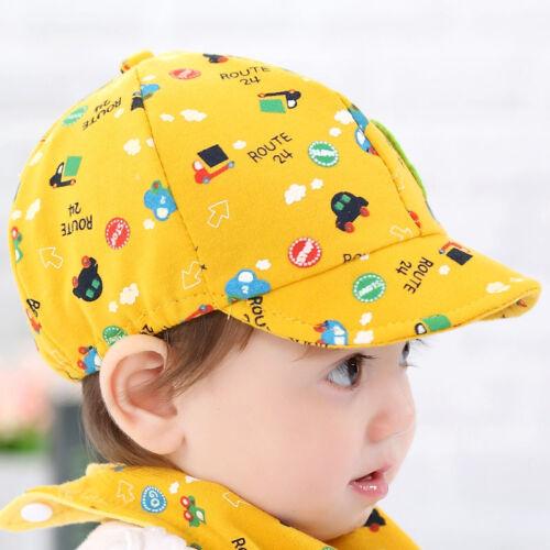 Baby Kid Boy Girl Toddler Infant Hat Little Car Baseball Beret Cap Baseball Cap