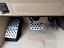 3PCS Aluminum Car Brake+Accelerator Foot Pedal For Toyota Prado FJ150 2010-2018