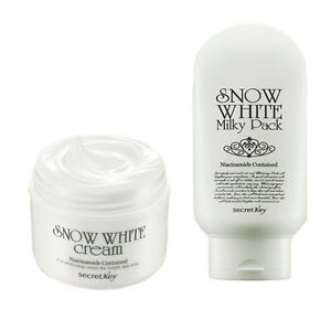 SECRET-KEY-Snow-White-Cream-50g-Snow-White-Milky-Pack-200g-Korea