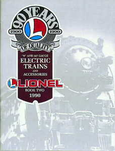 1990 LIONEL TRAINS BOOK TWO CATALOG MINT