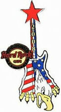 Hard Rock Cafe LAS VEGAS 2008 PINsanity #4 USA GUITAR PIN