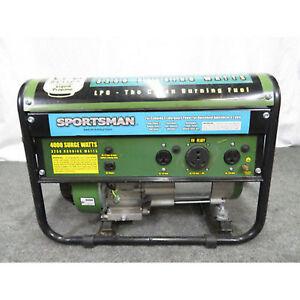 Image Is Loading Sportsman Propane 4000 Watt Generator Carb Roved New