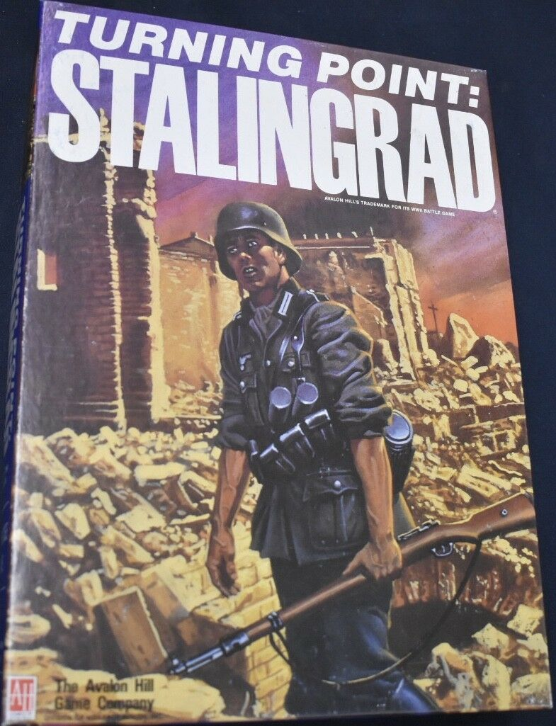 Turning Point  Stalingrad Bookcase Board Game + Expansion
