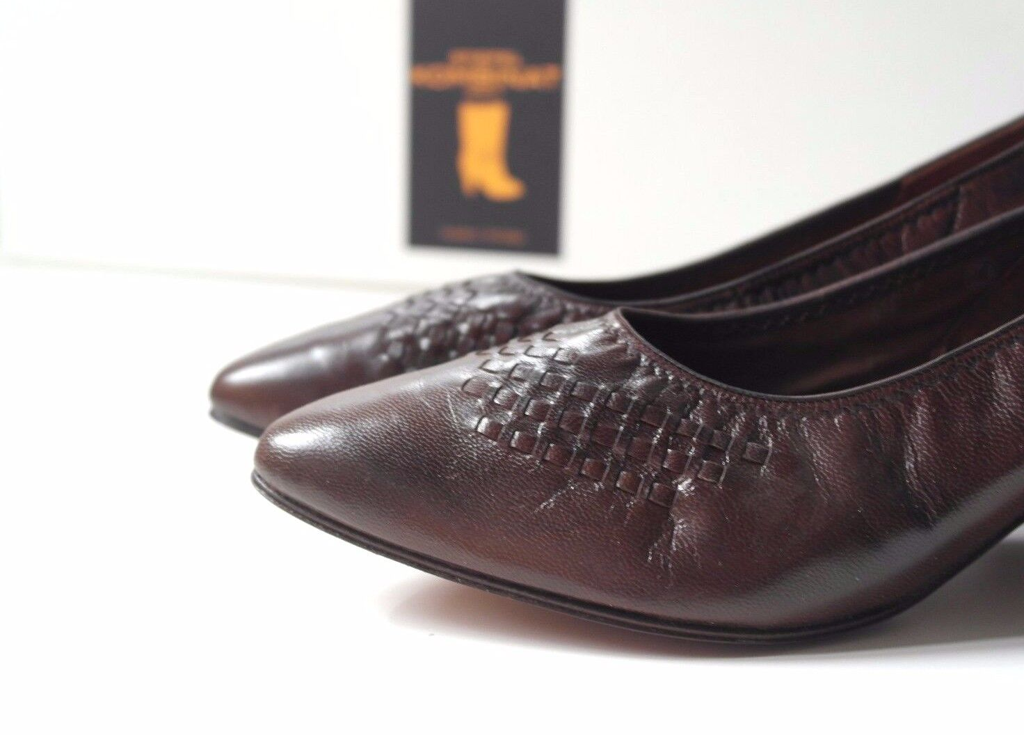 Rheinberger Rectosan Damen Pumps Schuhe TRUE VINTAGE Halbschuhe EUR 38 UK 4,5