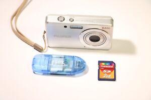 Fujifilm-FinePix-J-Series-J10-8-2MP-Digital-Camera-Silver