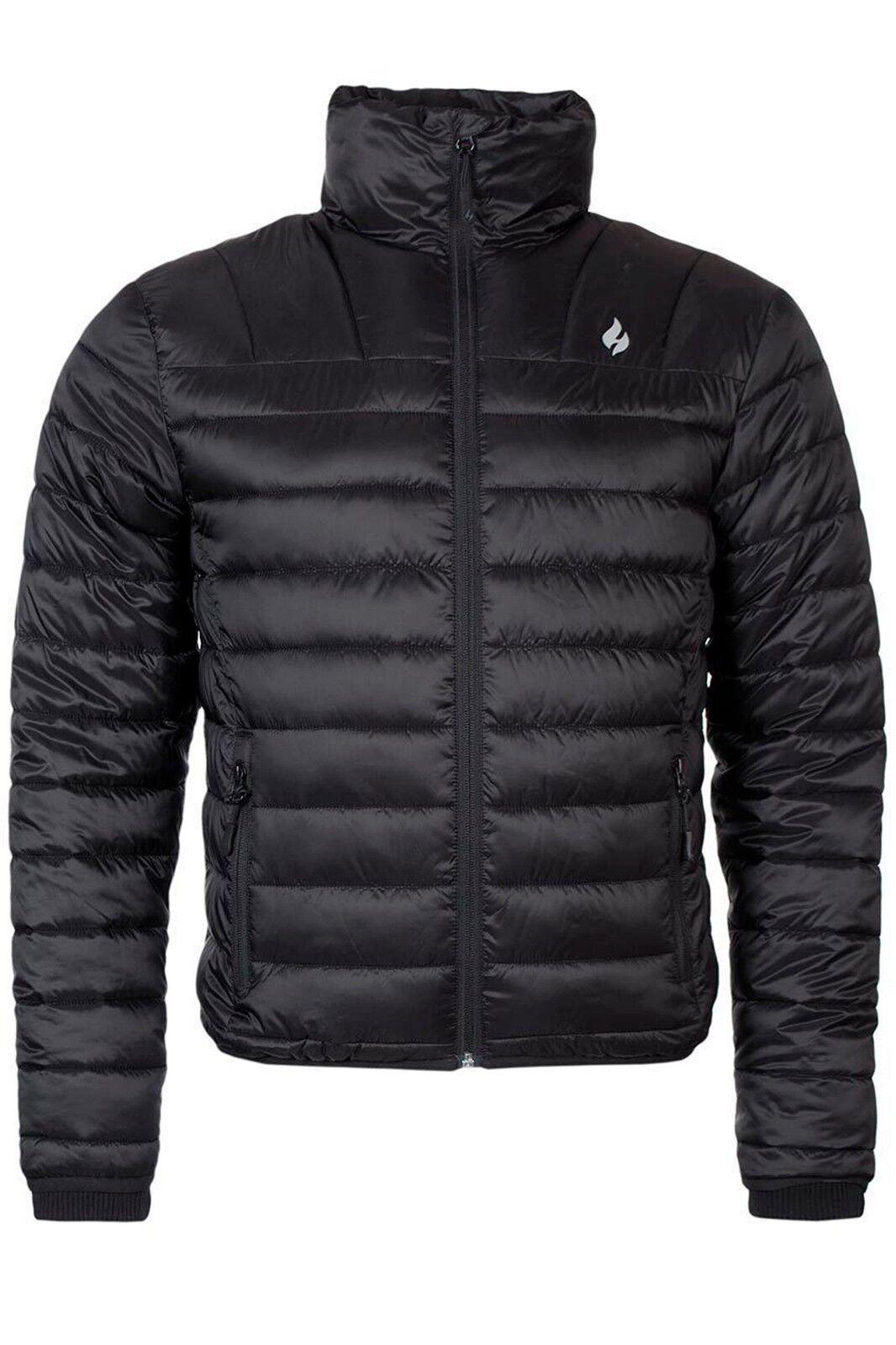 Heat Holders - Férfi téli meleg vízálló könnyű puffer kabát egy táskában