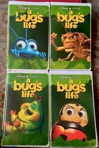 A Bug S Life Vhs Disney Pixar Your Choice Of Cover Art 786936088250 Ebay