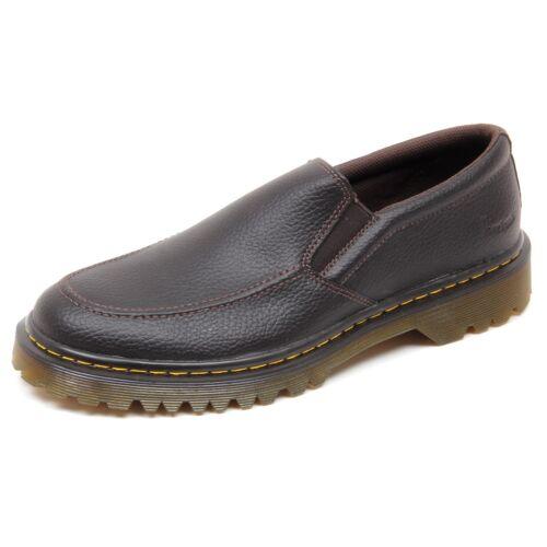 Scarpa Man Shoe D3664 Dr On Martens senza Slip Uomo Marrone scatola qAwAExfS