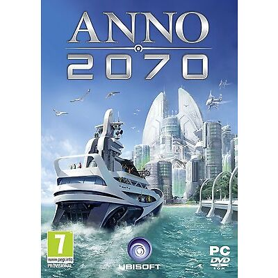 PC Computer DVD Spiel Anno 2070 NEU