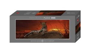 RED DAWN PANORAMA JIGSAW PUZZLE 2000 PIECE HY29608 - Heye Puzzles - Panormic