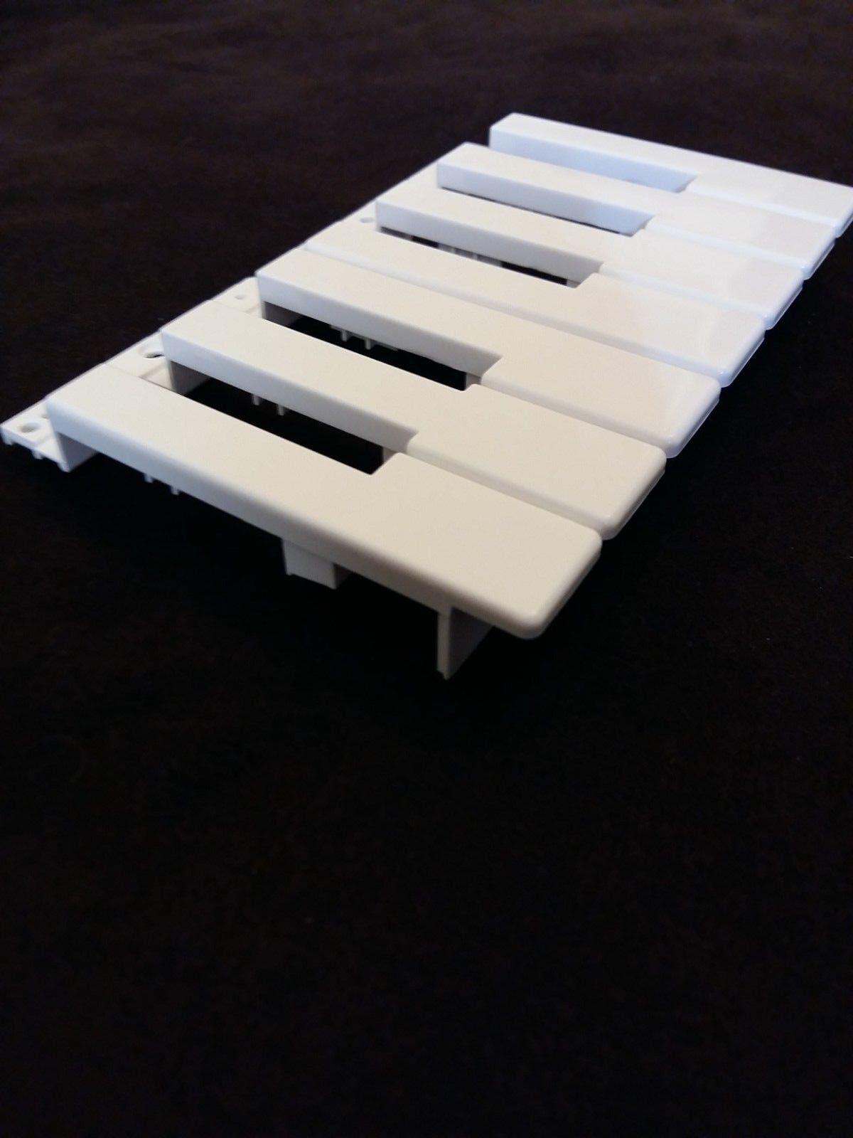 Novation White 1 Octave Keys for MiniNova Synthesizer
