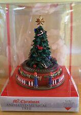 Mr Christmas Christmas Tree Animated Train Mini Carnival Music Box Deck the Hall