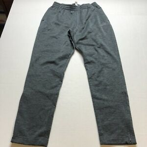 Adidas-Gray-Mens-Athletic-Workout-Pants-Size-Medium-A1833